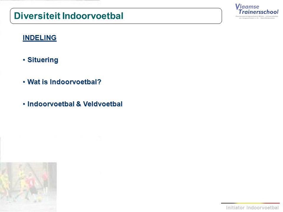 Diversiteit Indoorvoetbal