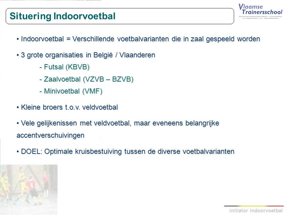 Situering Indoorvoetbal