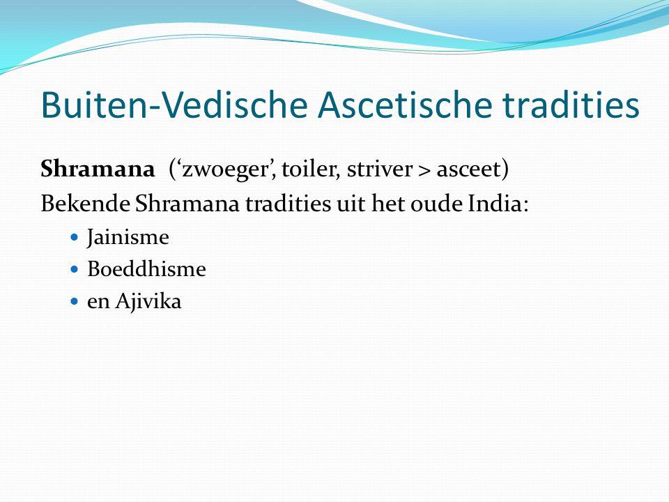 Buiten-Vedische Ascetische tradities