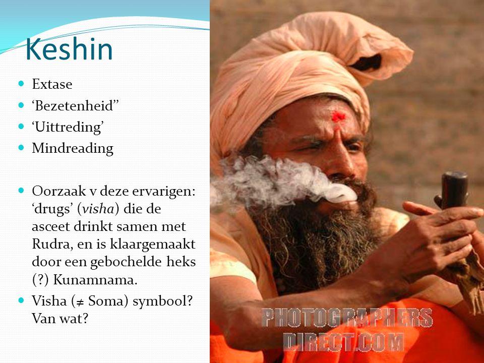 Keshin Extase 'Bezetenheid'' 'Uittreding' Mindreading