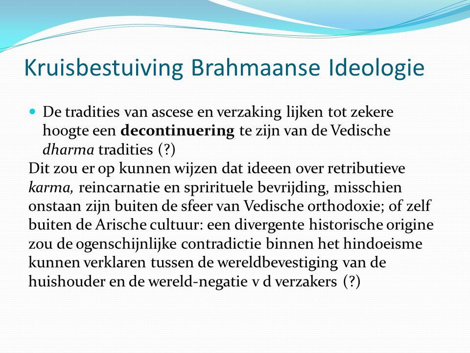 Kruisbestuiving Brahmaanse Ideologie
