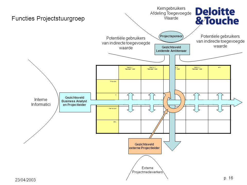 externe Projectleider