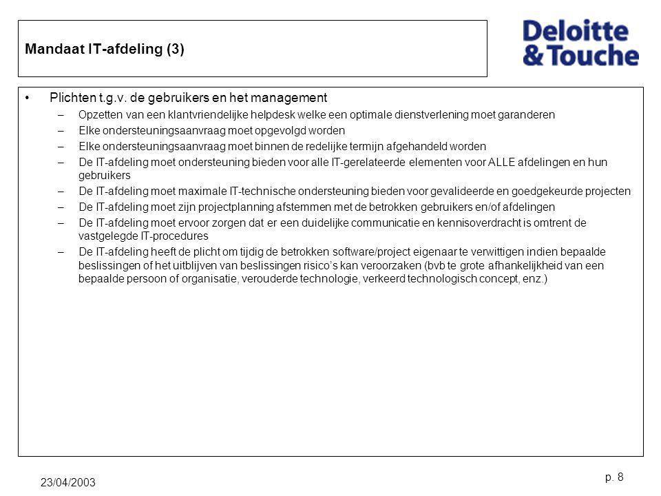 Mandaat IT-afdeling (3)