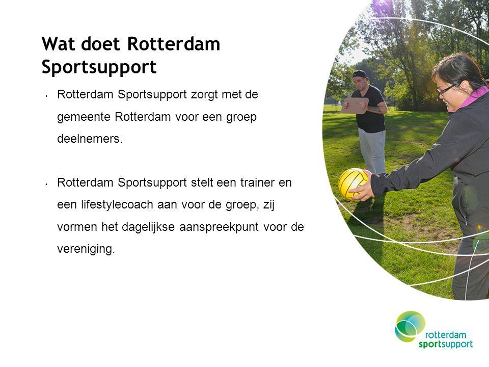 Wat doet Rotterdam Sportsupport