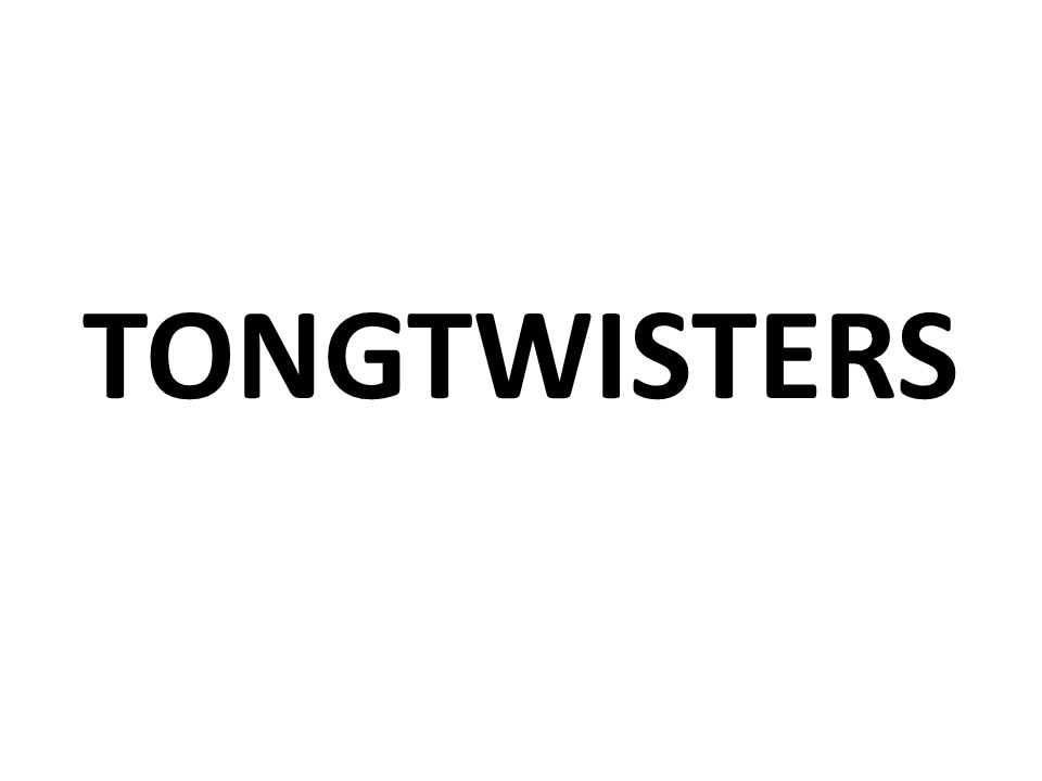 TONGTWISTERS