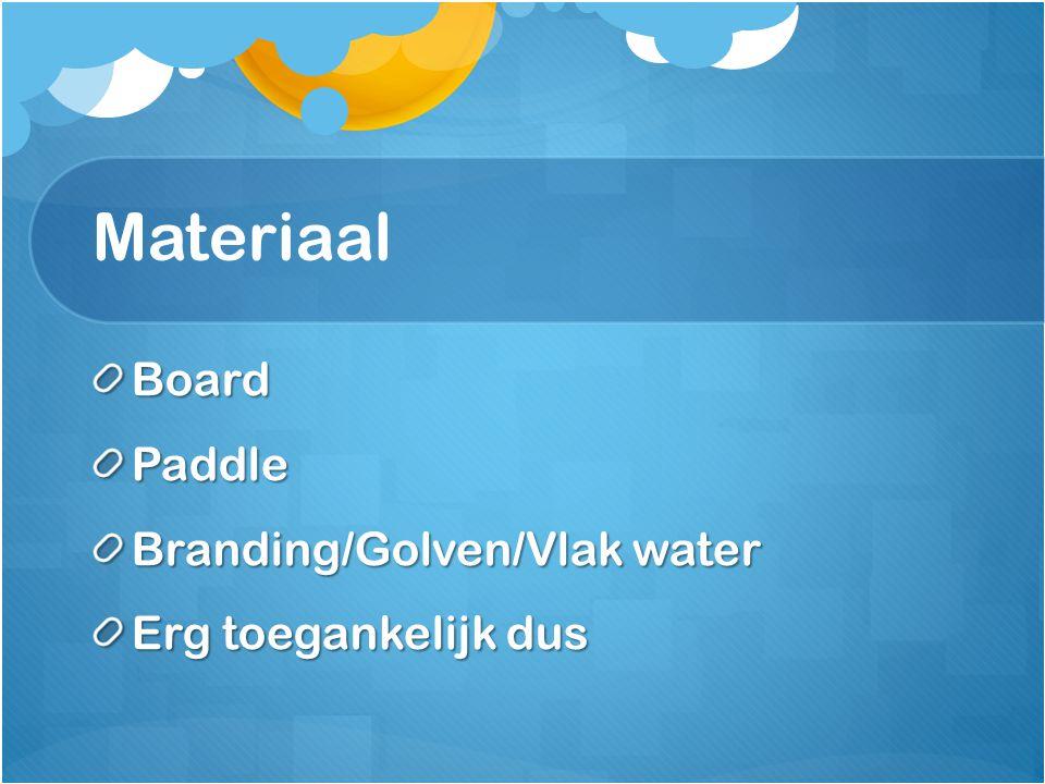 Materiaal Board Paddle Branding/Golven/Vlak water Erg toegankelijk dus