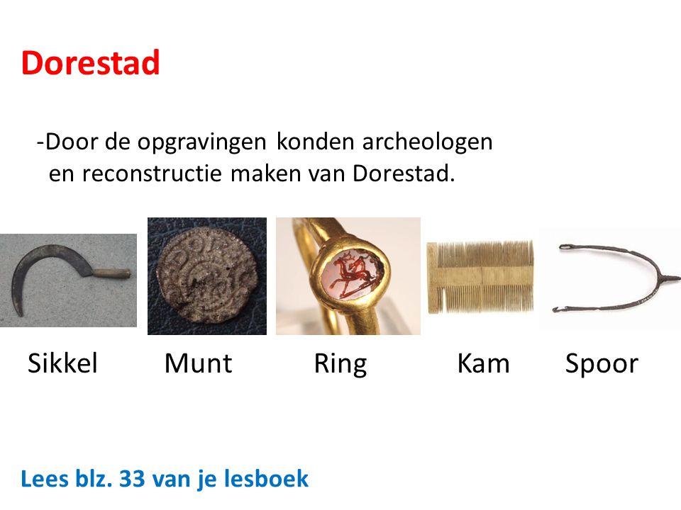 Dorestad Sikkel Munt Ring Kam Spoor