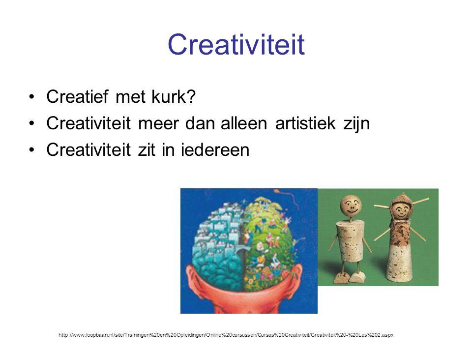 Creativiteit Creatief met kurk