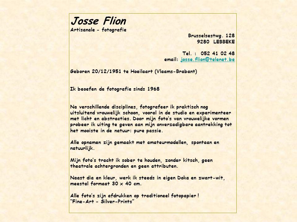 Josse Flion Artisanale - fotografie Brusselsestwg. 128 9280 LEBBEKE