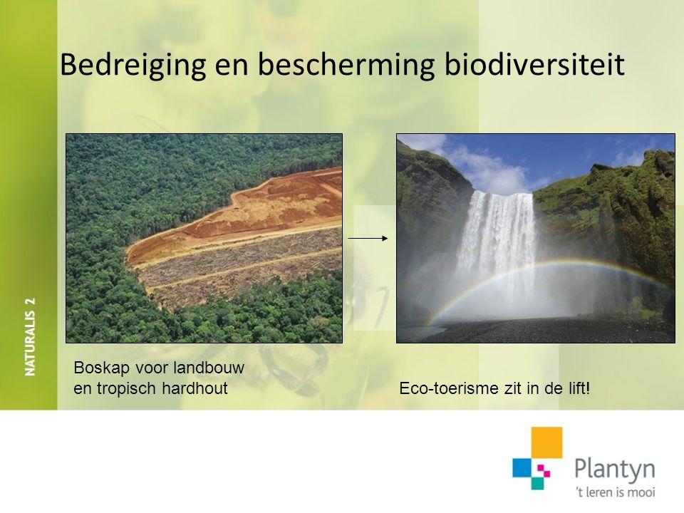 Bedreiging en bescherming biodiversiteit