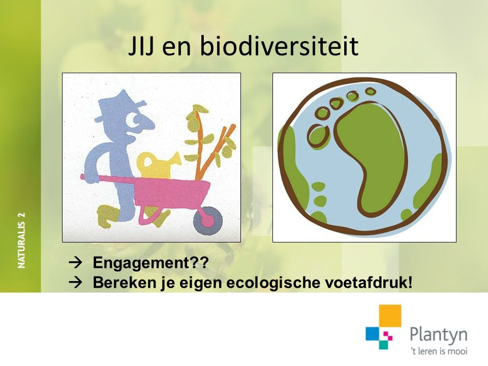 JIJ en biodiversiteit  Engagement