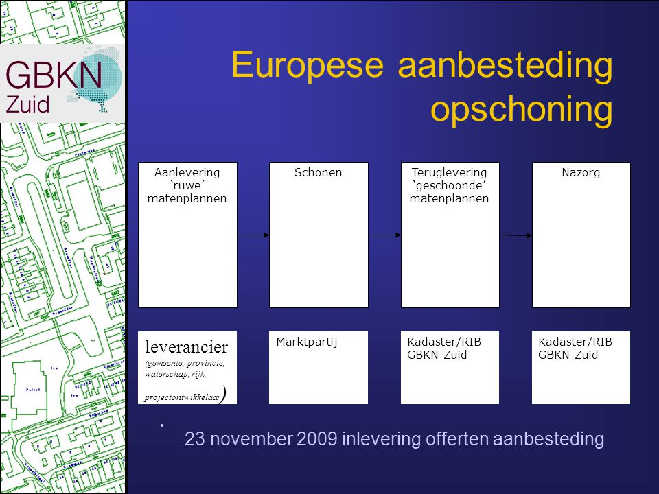 Europese aanbesteding opschoning