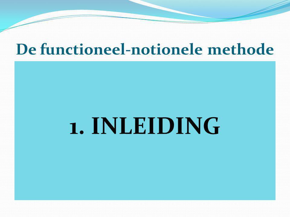 De functioneel-notionele methode