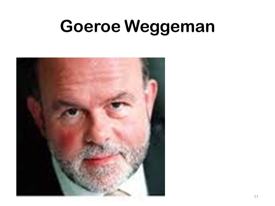 Goeroe Weggeman Maar eerst wil ik jullie voorstellen aan Mathieu Weggeman, de goeroe binnen NL op gebied van KM.