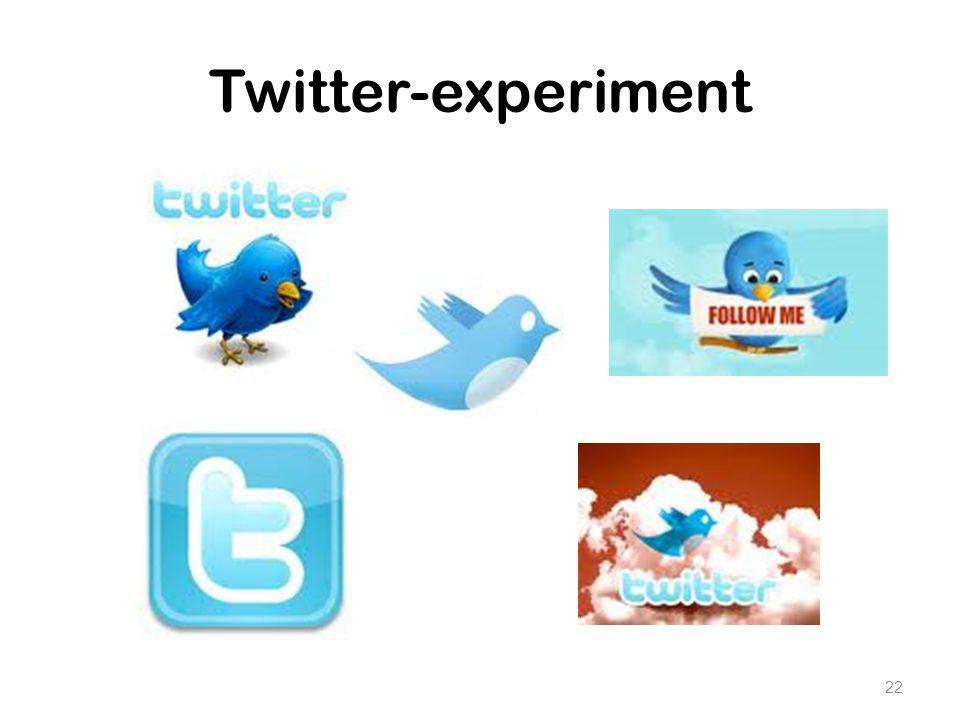 Twitter-experiment STUDENTEN LEZEN: Artikel: Twitter in het Onderwijs