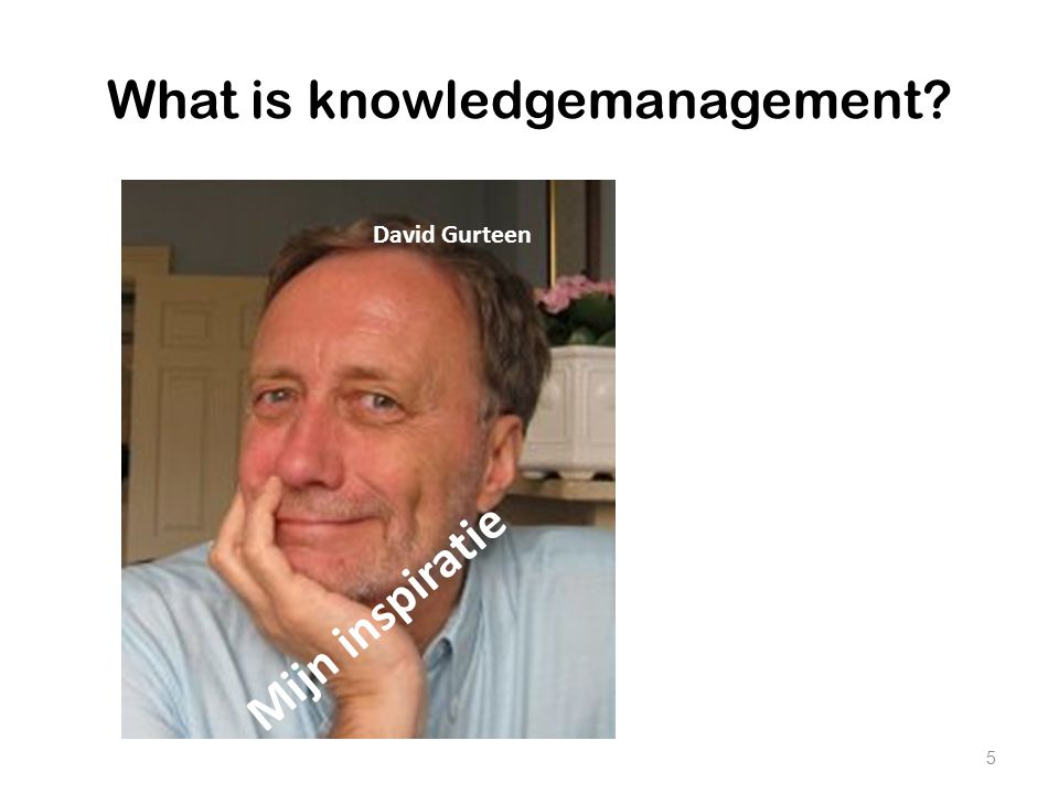 What is knowledgemanagement