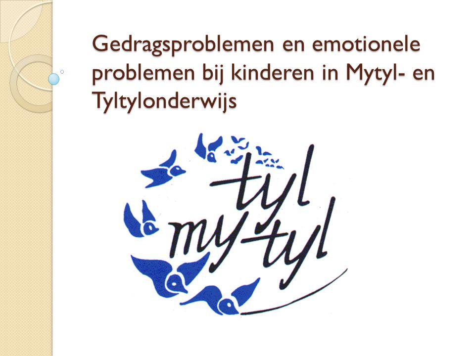 Gedragsproblemen en emotionele. problemen bij kinderen in Mytyl- en