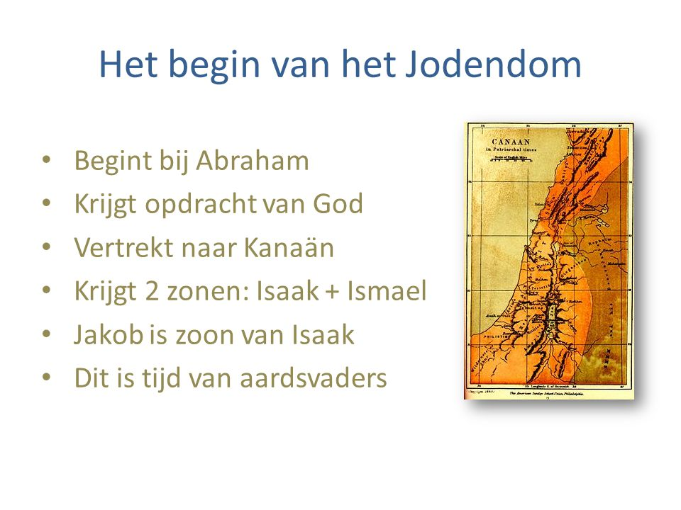 Het begin van het Jodendom