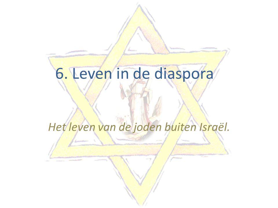 Het leven van de joden buiten Israël.