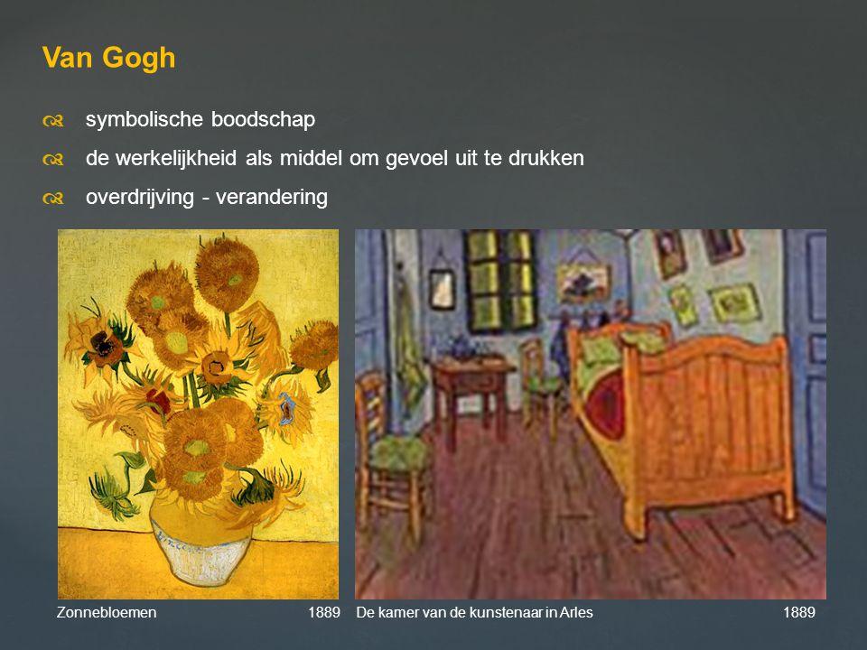 Van Gogh d symbolische boodschap