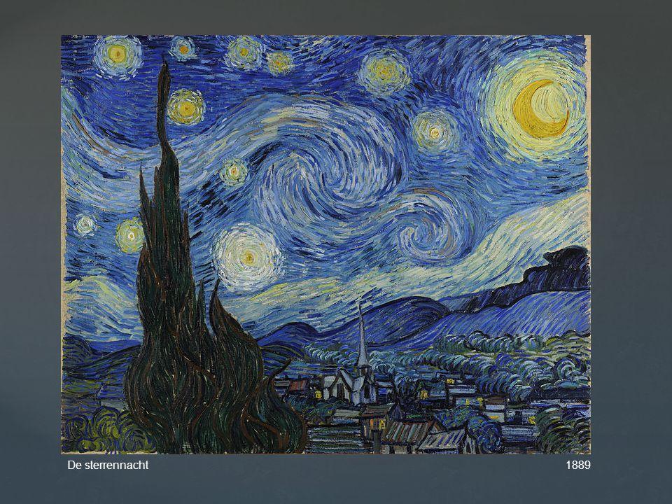 De sterrennacht 1889