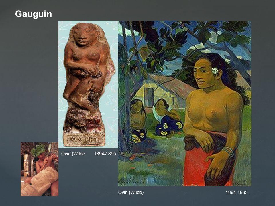 Gauguin Oviri (Wilde 1894-1895.