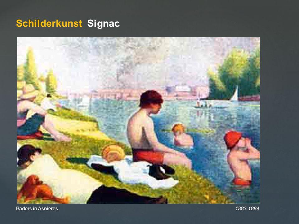Schilderkunst Signac