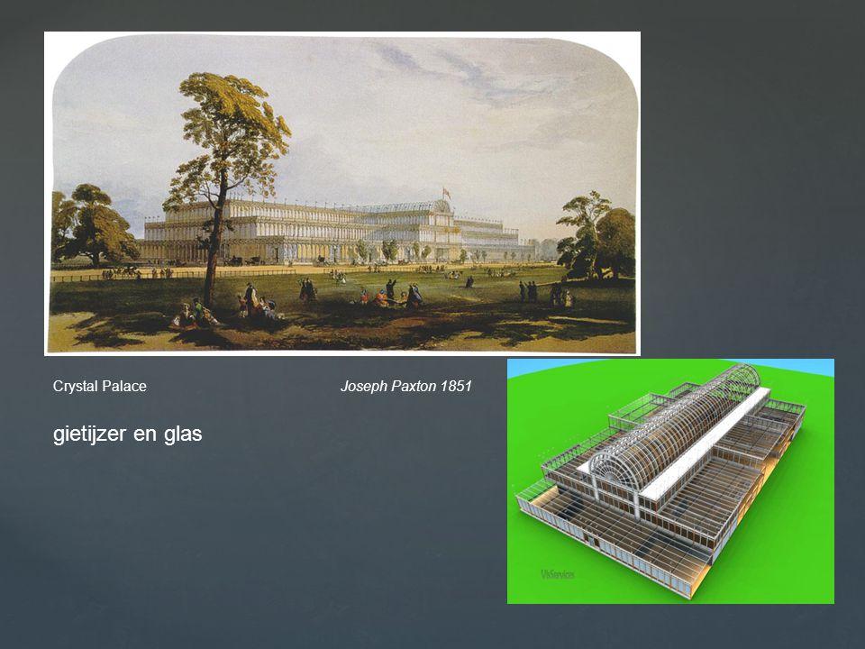 Crystal Palace Joseph Paxton 1851