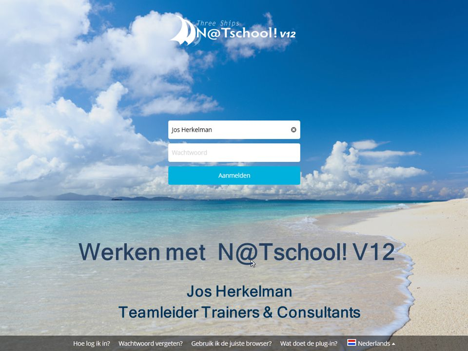 Jos Herkelman Teamleider Trainers & Consultants