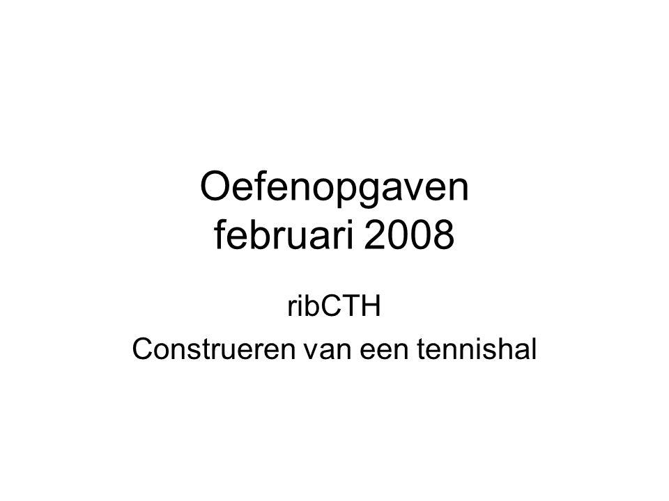 Oefenopgaven februari 2008