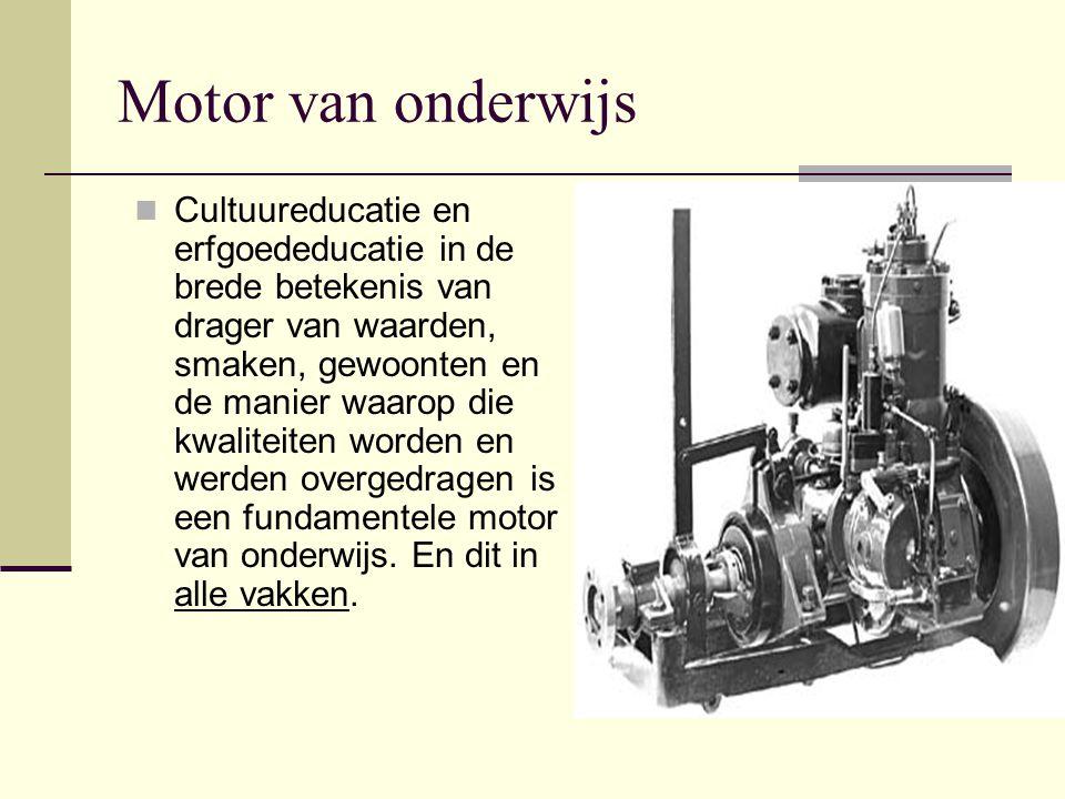 Motor van onderwijs