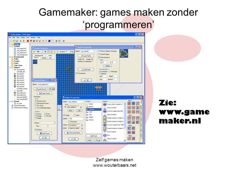 Gamemaker: games maken zonder 'programmeren'