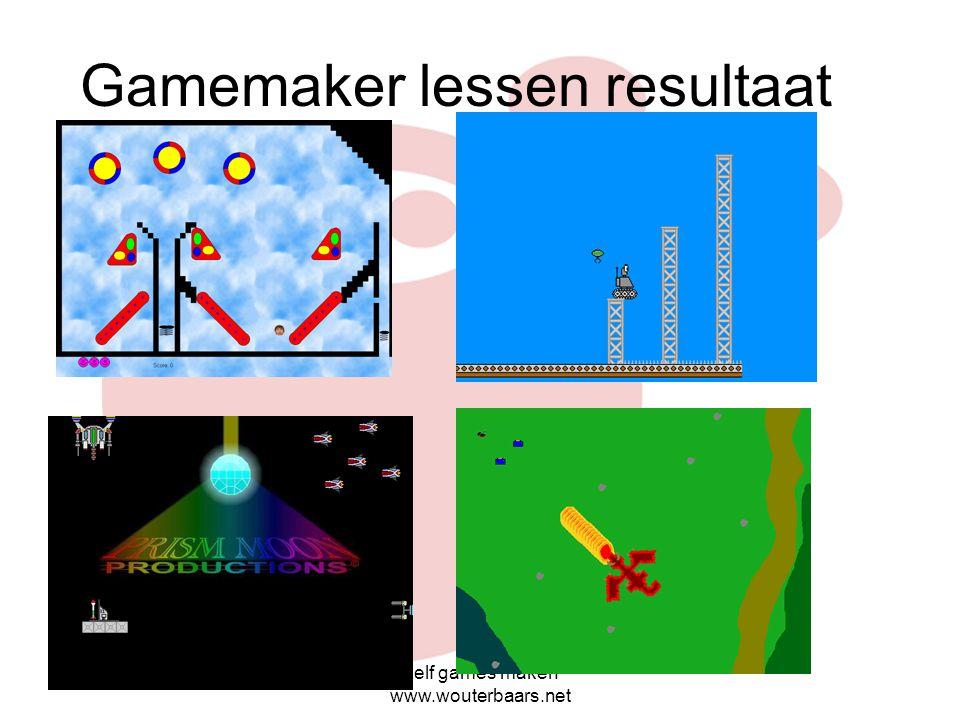 Gamemaker lessen resultaat