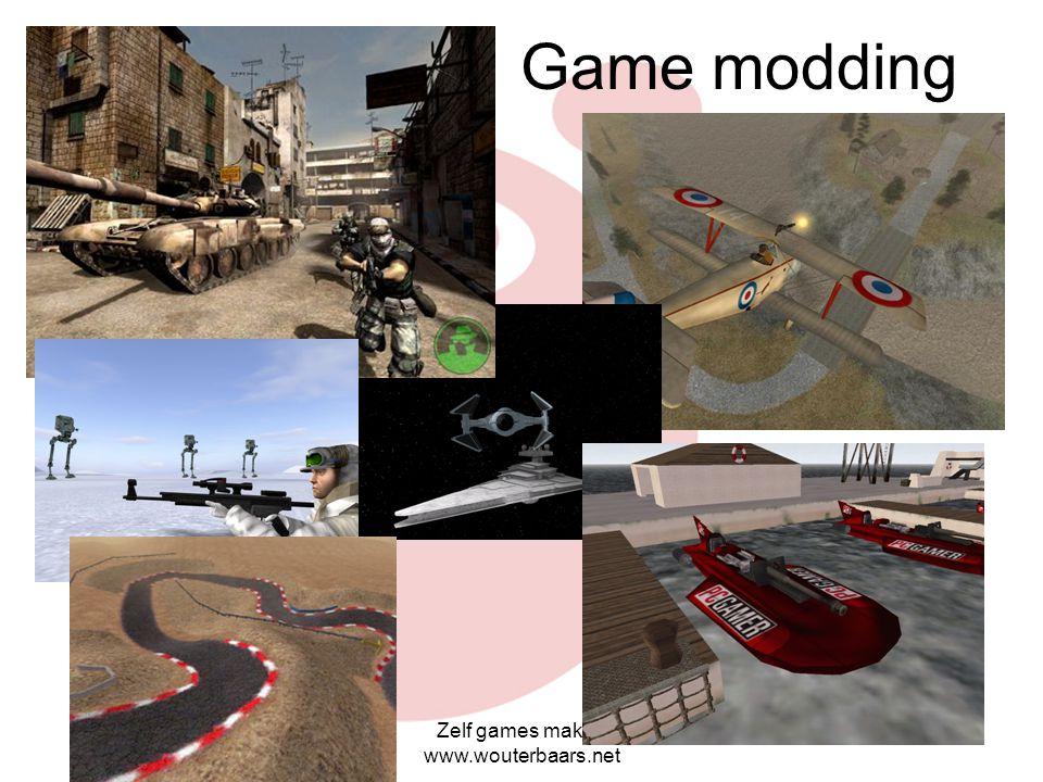 Game modding Zelf games maken www.wouterbaars.net
