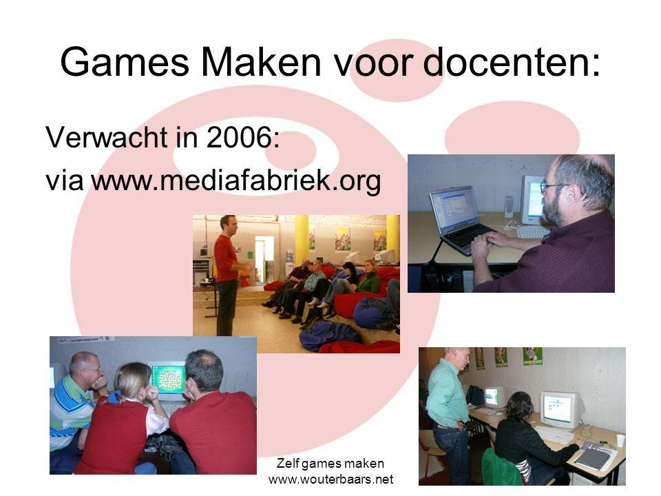 Games Maken voor docenten:
