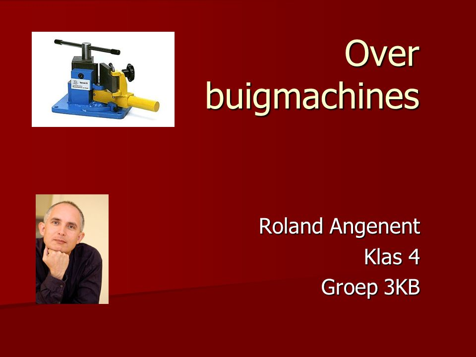 Roland Angenent Klas 4 Groep 3KB