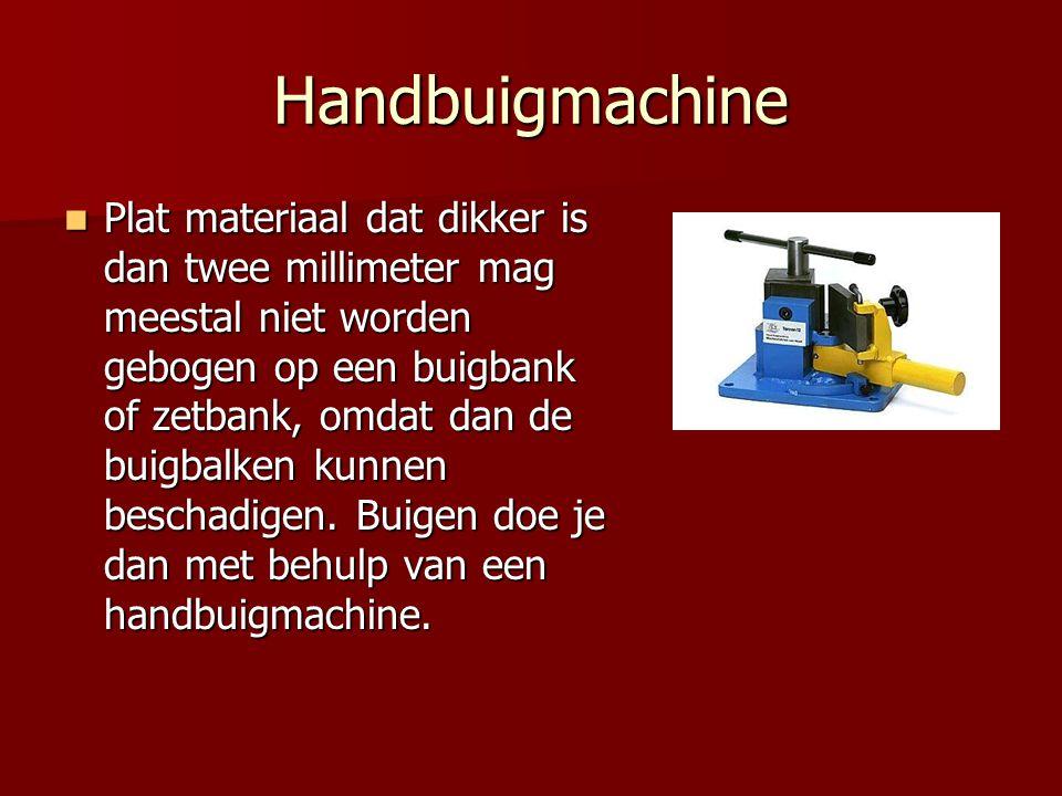 Handbuigmachine