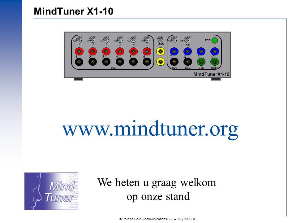 www.mindtuner.org We heten u graag welkom op onze stand