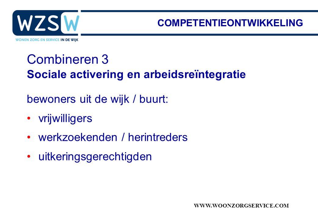 Combineren 3 Sociale activering en arbeidsreïntegratie