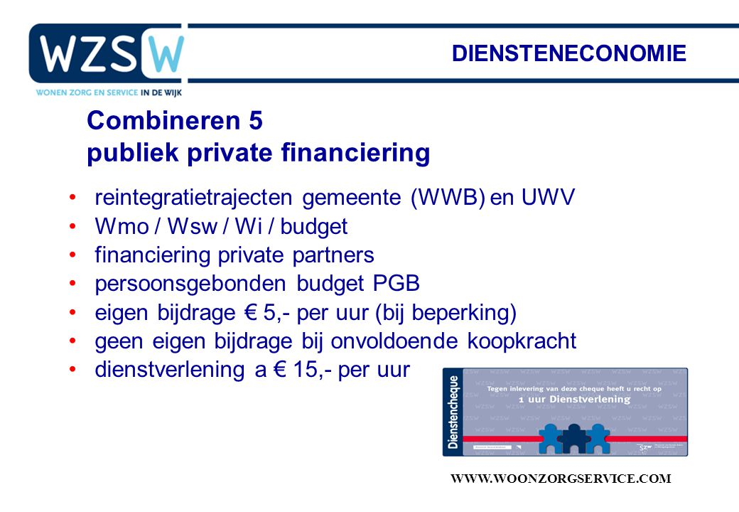 publiek private financiering