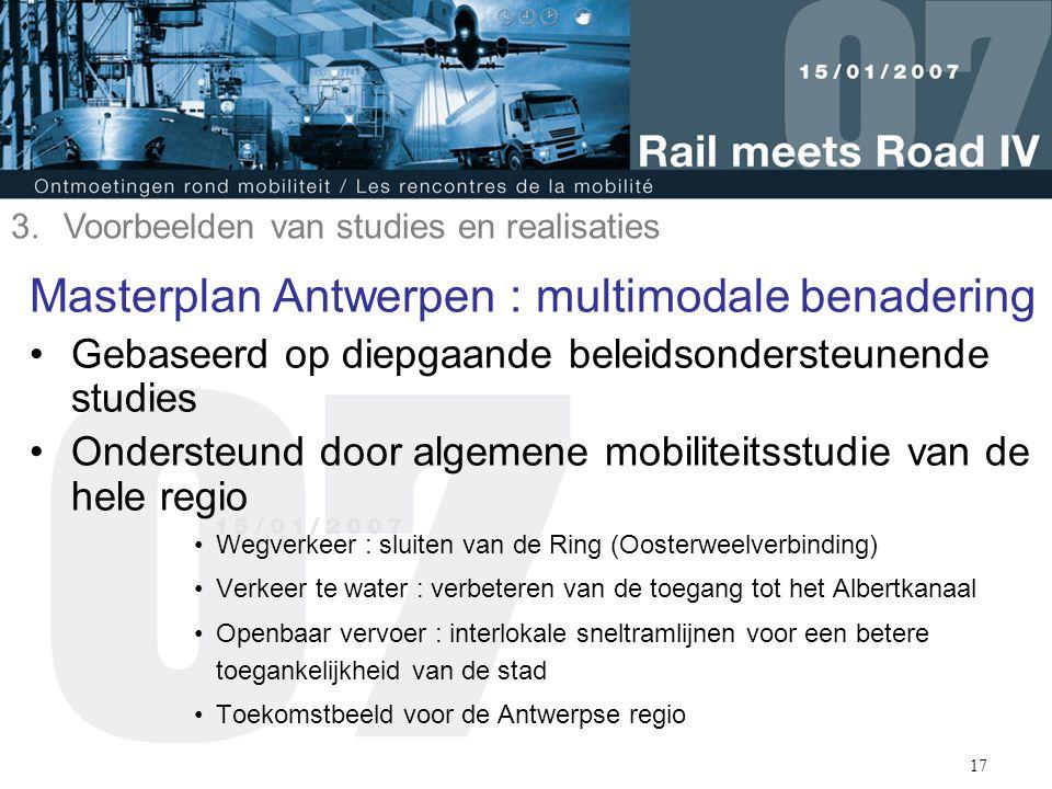 Masterplan Antwerpen : multimodale benadering