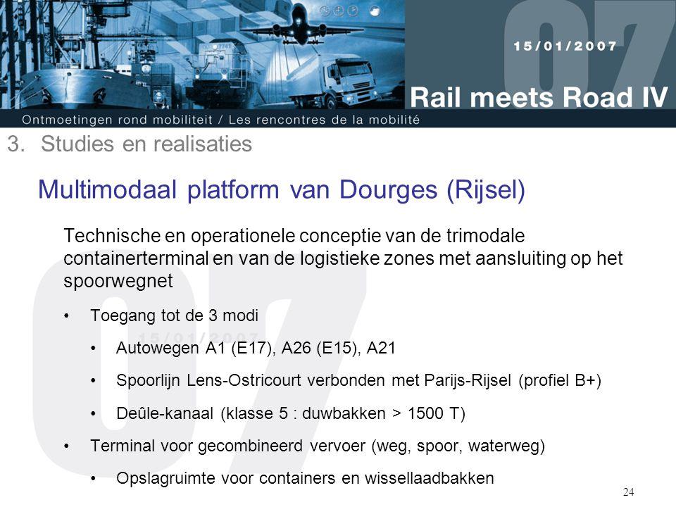 Multimodaal platform van Dourges (Rijsel)