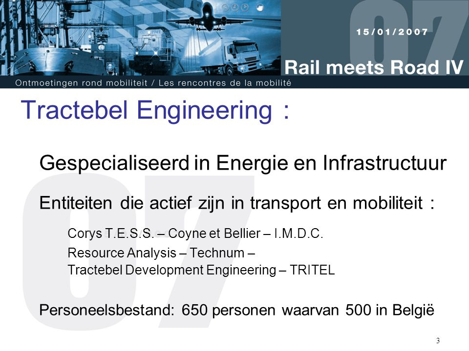Tractebel Engineering :