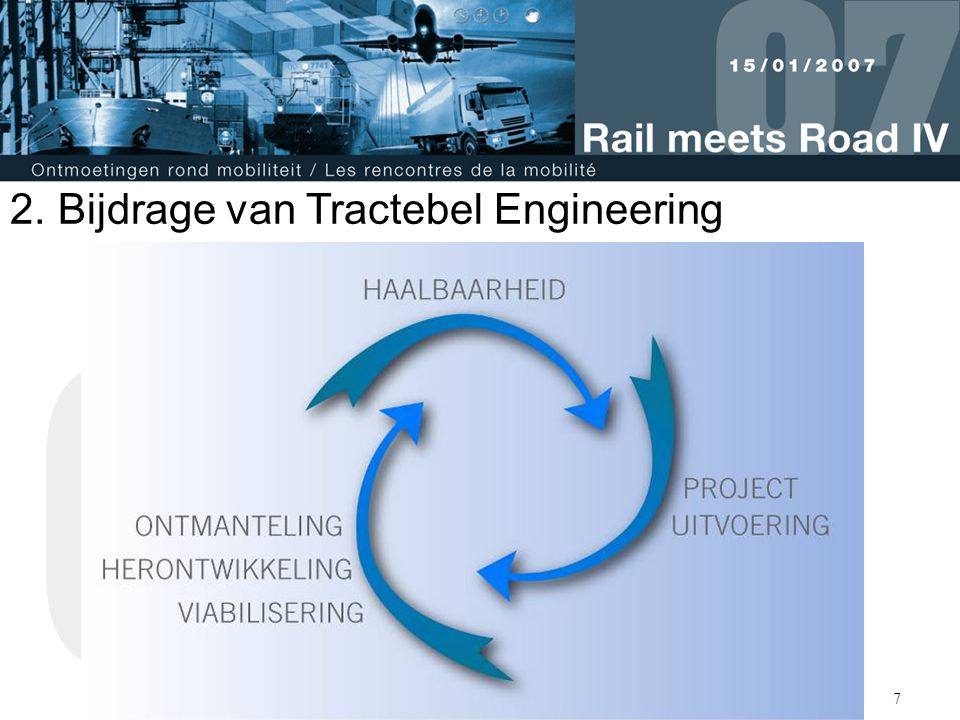 Bijdrage van Tractebel Engineering