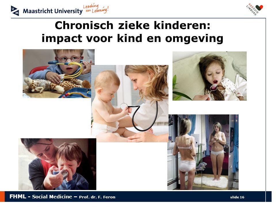 Chronisch zieke kinderen: impact voor kind en omgeving
