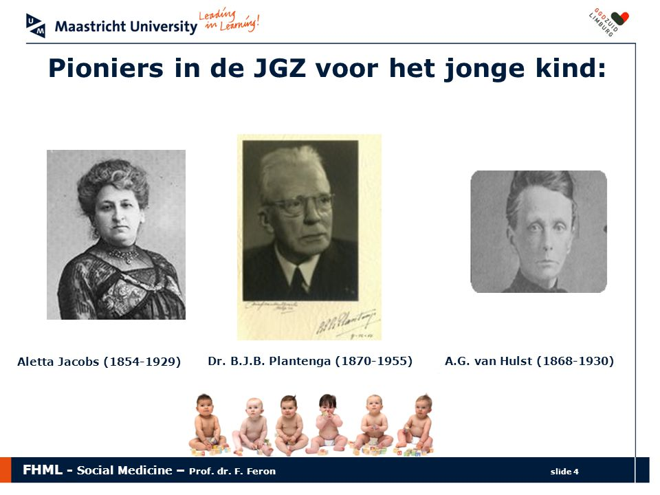 Pioniers in de JGZ voor het jonge kind: