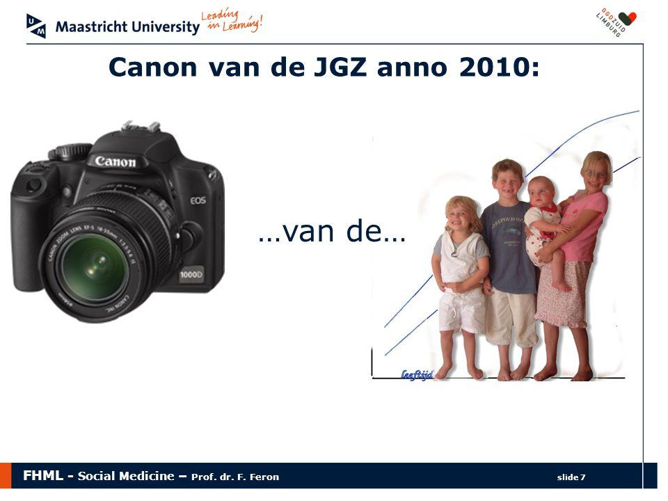 Canon van de JGZ anno 2010: …van de…