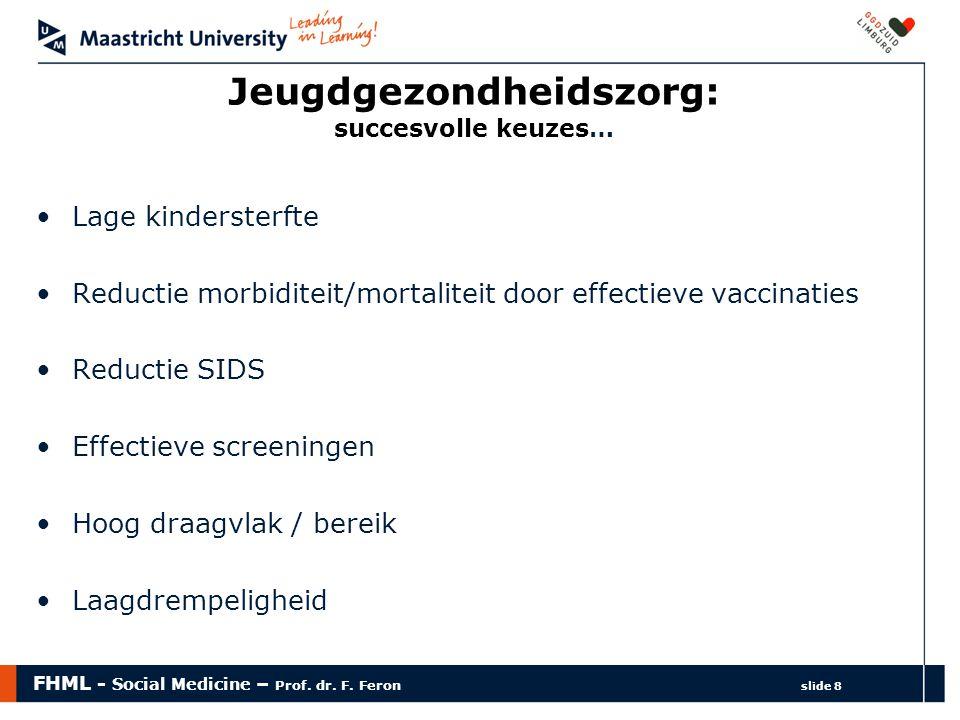 Jeugdgezondheidszorg: succesvolle keuzes…