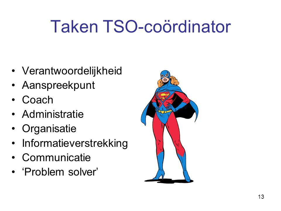 Taken TSO-coördinator