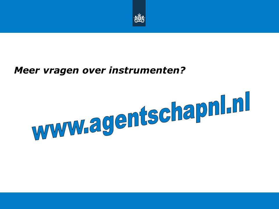 Meer vragen over instrumenten